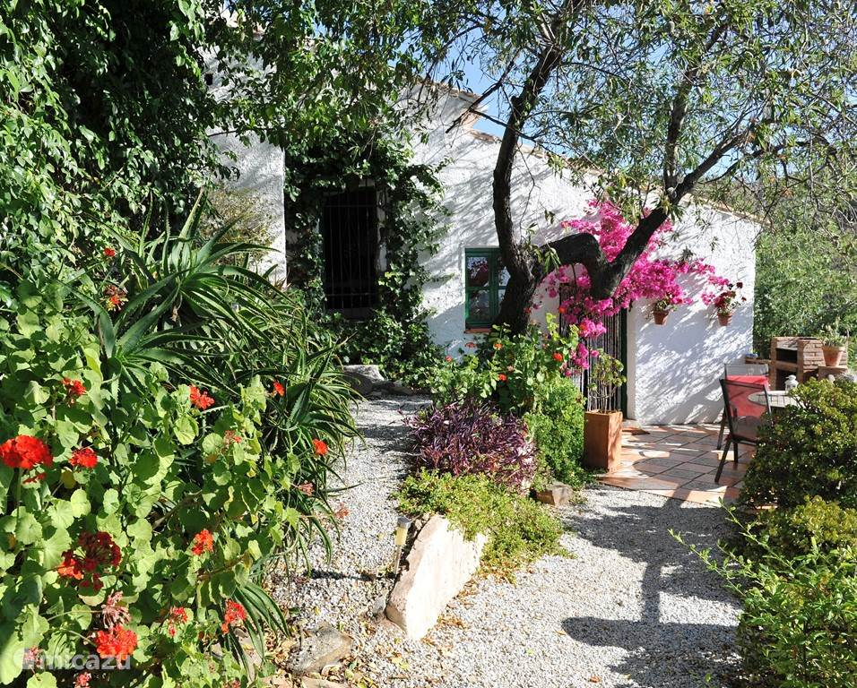 Ferienwohnung Spanien, Costa del Sol, Comares Gîte / Hütte Romantisches Casita - Casa Suerte