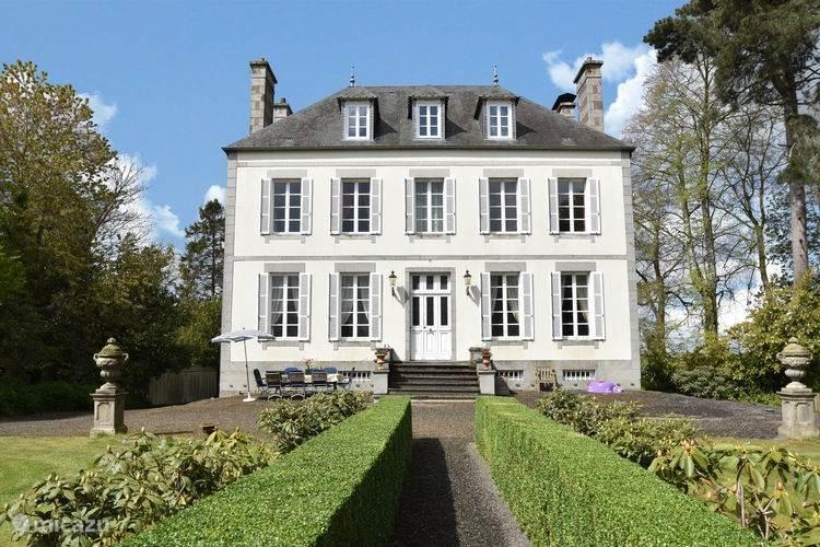 Vakantiehuis Frankrijk, Normandië, Saint-Germain-de-Tallevende Landhuis / Kasteel La Tessonnière