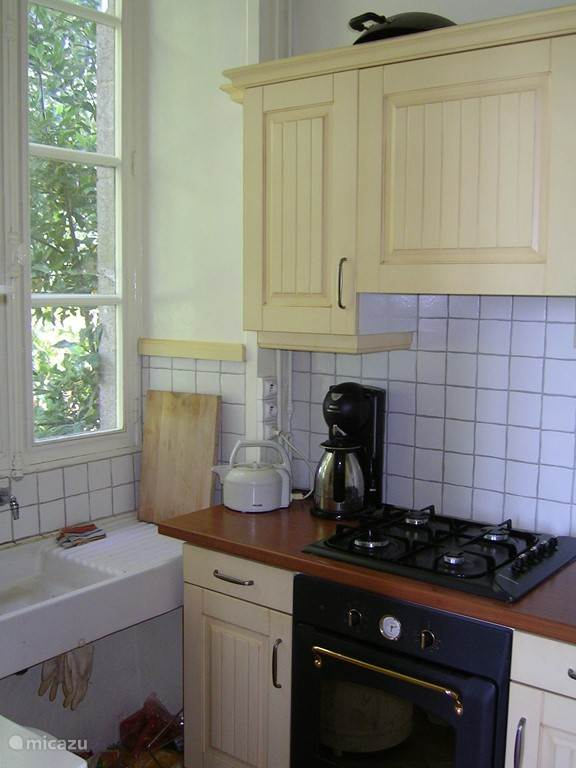 compact but complete kitchen