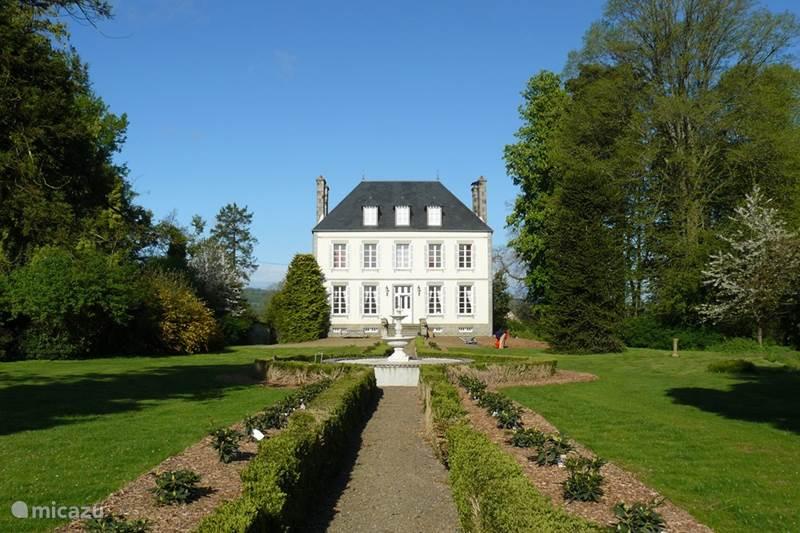 Vakantiehuis Frankrijk, Calvados, Saint-Germain-de-Tallevende Landhuis / Kasteel La Tessonnière