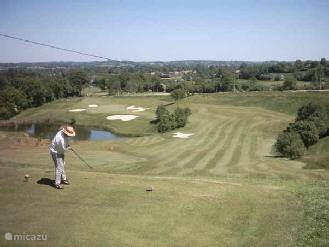Beautiful 18 hole Golf Course is 5 km away from the mansion