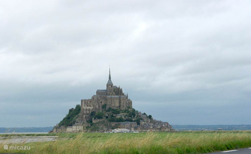 Mont Saint Michel is about an hour drive Horticultural