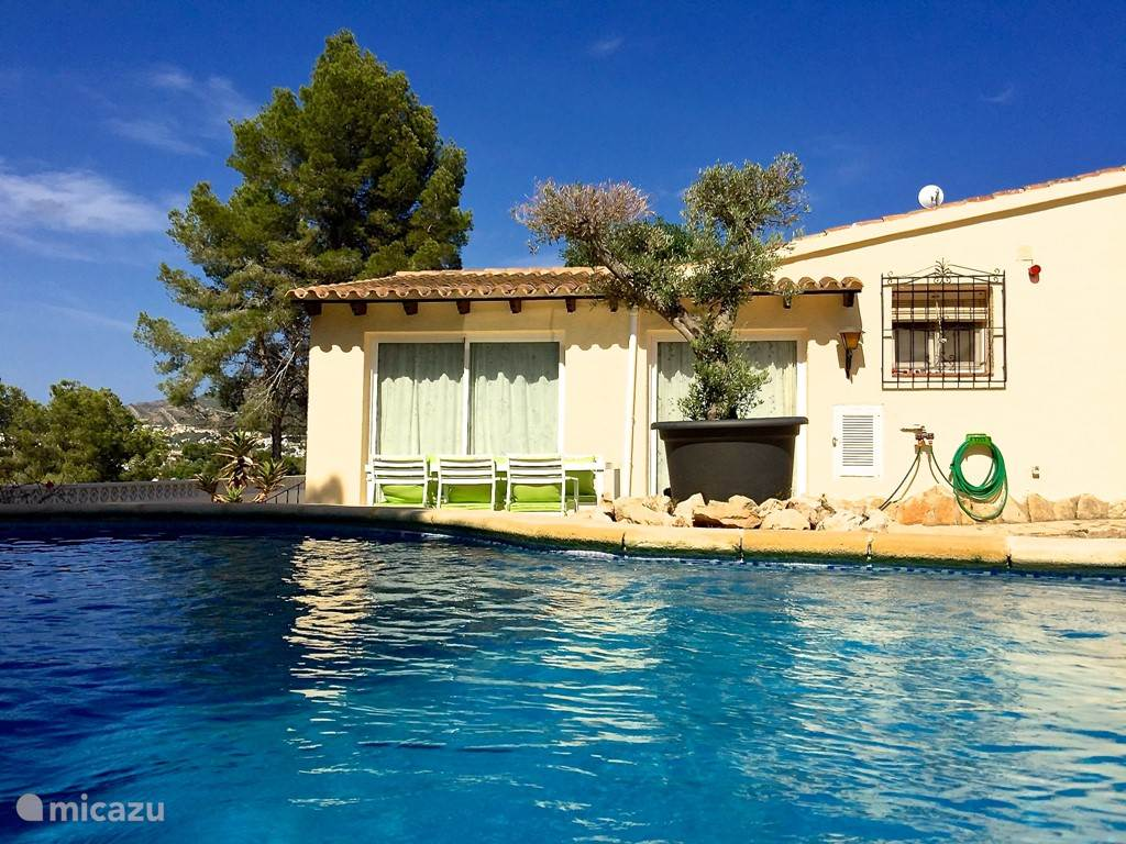 Vakantiehuis Spanje, Costa Blanca, Moraira vakantiehuis Casa Tabaira