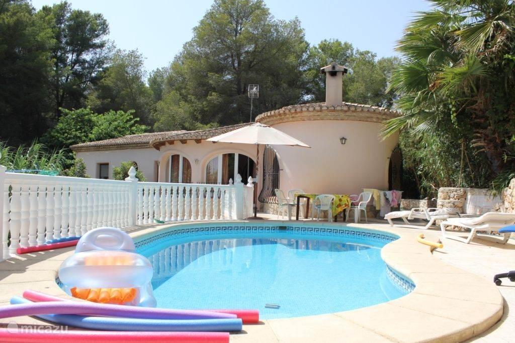Vakantiehuis Spanje, Costa Blanca, Benissa villa Casa Esmeralda
