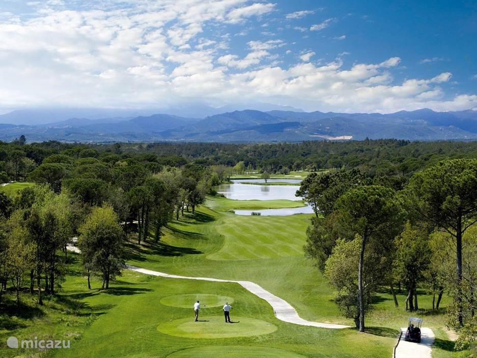 Diverse golfbanen in de omgeving