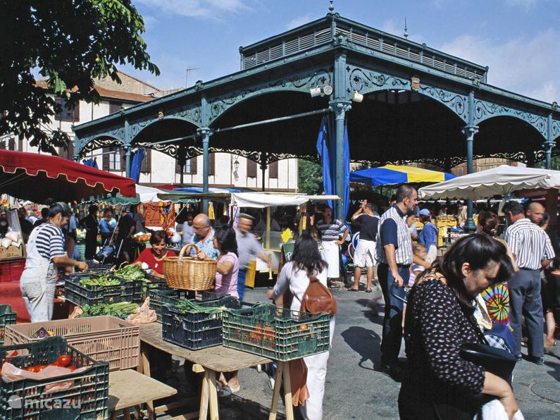 Typische Franse markten, bijv in Mirepoix