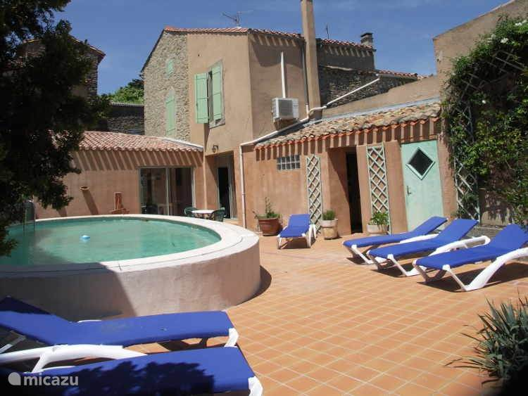 Vacation rental France, Languedoc-Roussillon – holiday house Villa Argeliers
