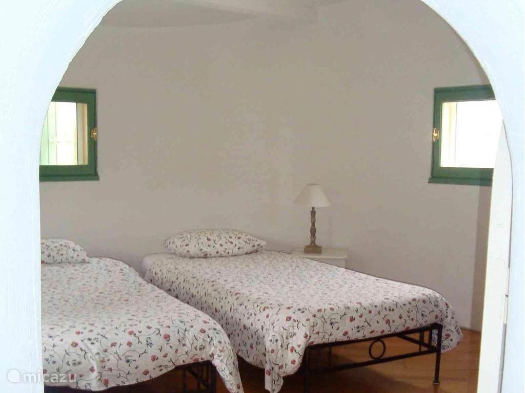 Slaapkamer 4, de torenkamer op de eerste verdieping