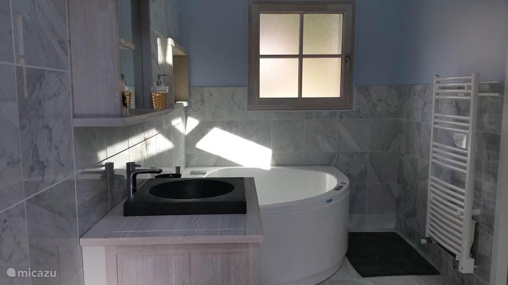 Bathroom with jakussi