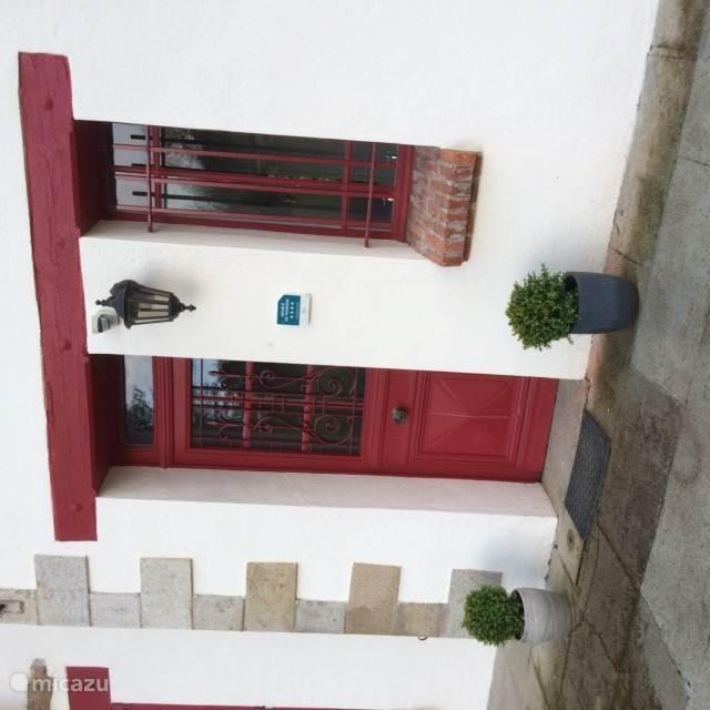 Ingang Villa