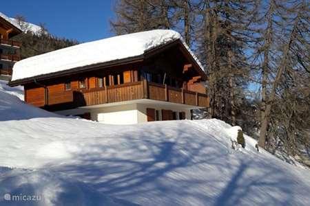 Vakantiehuis Zwitserland, Wallis, Bellwald – chalet Bellwald