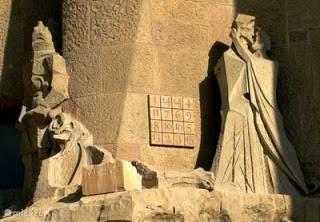 Ondek de geheimen van Gaudi.Sagrada Familia.