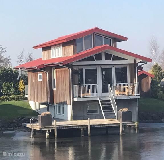 Vakantiehuis Nederland, Friesland, Noardburgum villa Waterpaviljoen Armo