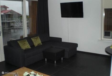 LCD televisie in de woonkamer