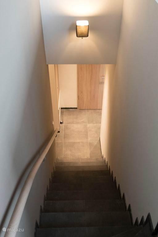 De trap naar beneden