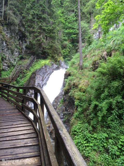 Gunstner waterval in Schoder