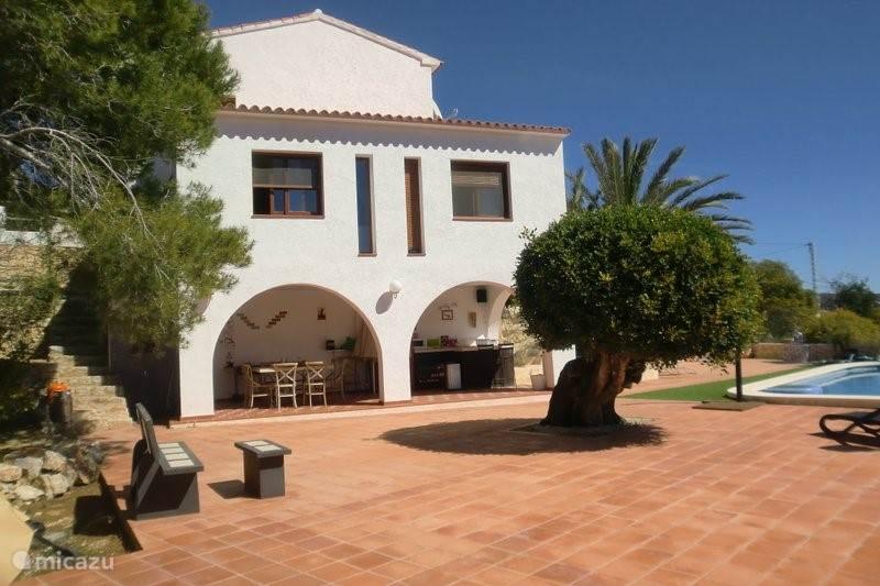 Vakantiehuis Spanje, Costa Blanca, Moraira Vakantiehuis Vista Bonita