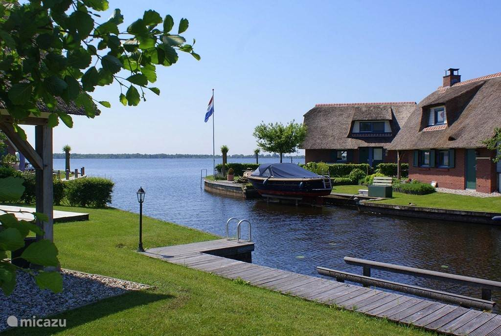 Vakantiehuis Nederland, Overijssel, Wanneperveen vakantiehuis Gaarde 6 persoonswoning Belterwiede