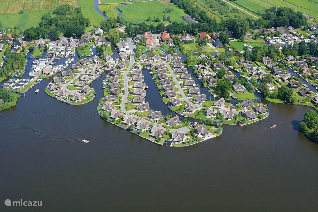 Luchtfoto Waterpark Belterwiede