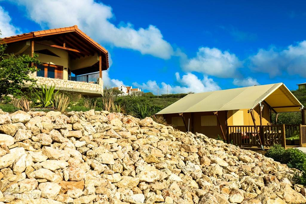 Vacation rental Curacao, Banda Abou (West), Sint Willibrordus - glamping / safari tent The Natural Curacao