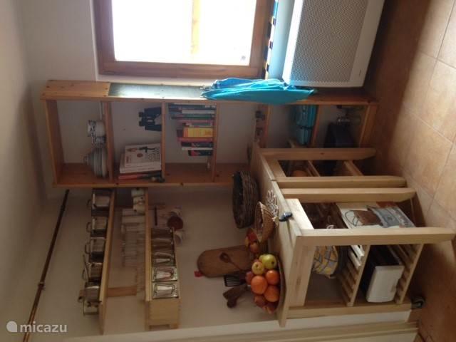 Keuken vanuit andere hoek