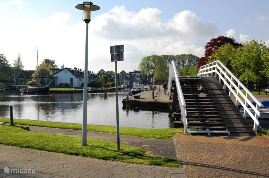 De haven van Langweer