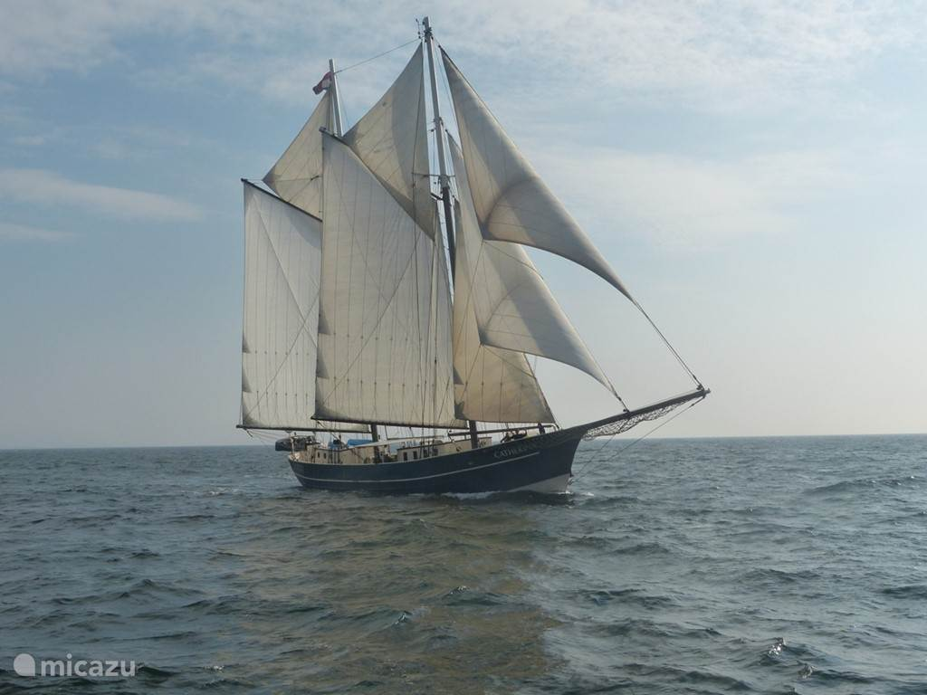 Vakantiehuis Nederland, Zuid-Holland, Rotterdam camper / jacht / woonboot Catherina