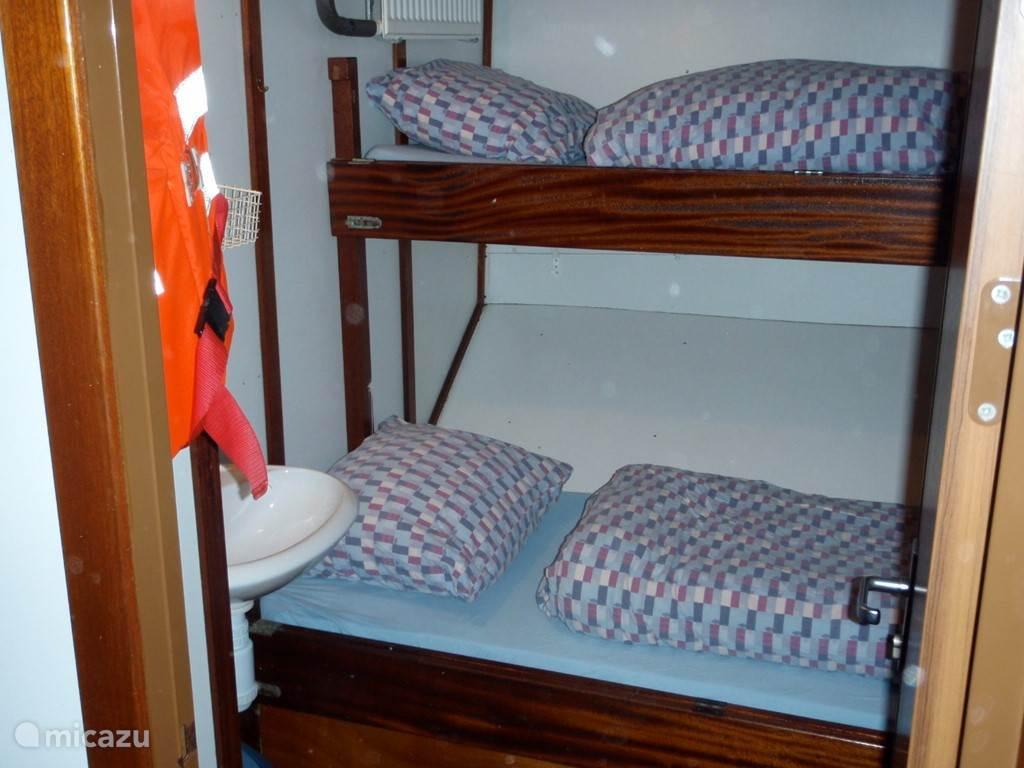 Een van de 8 hutten op de Catherina (2 persoons)
