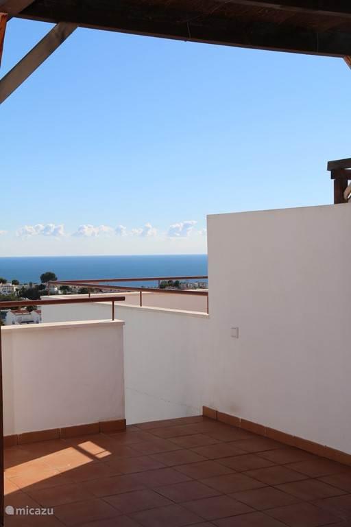 Entrance roof terrace