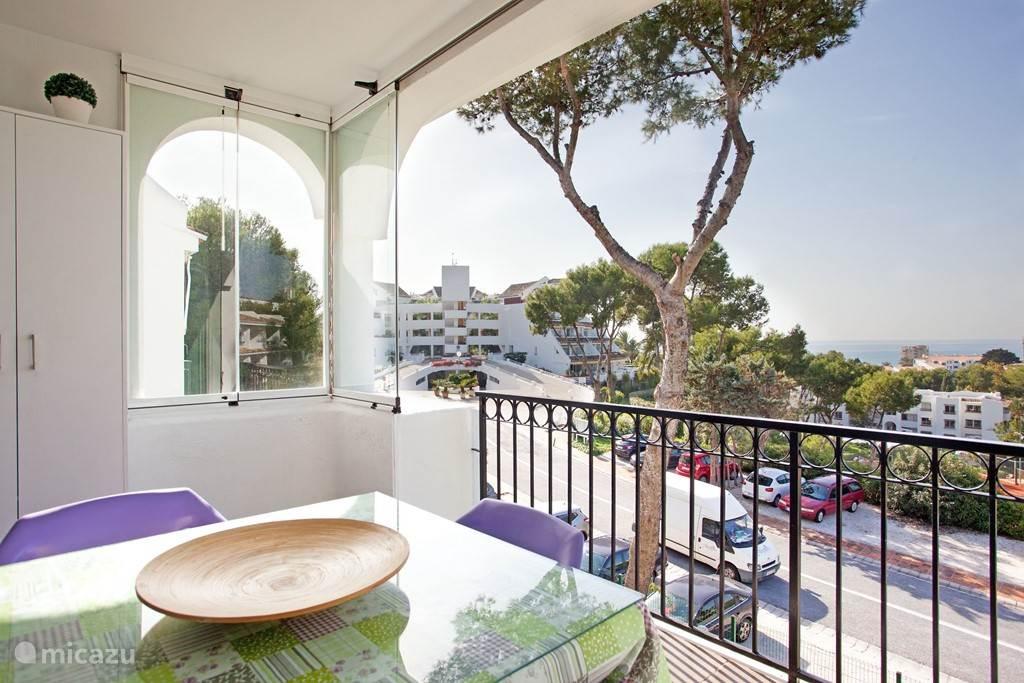 Vakantiehuis Spanje, Costa del Sol, Mijas Costa - appartement Modern apartment met fraai zeezicht