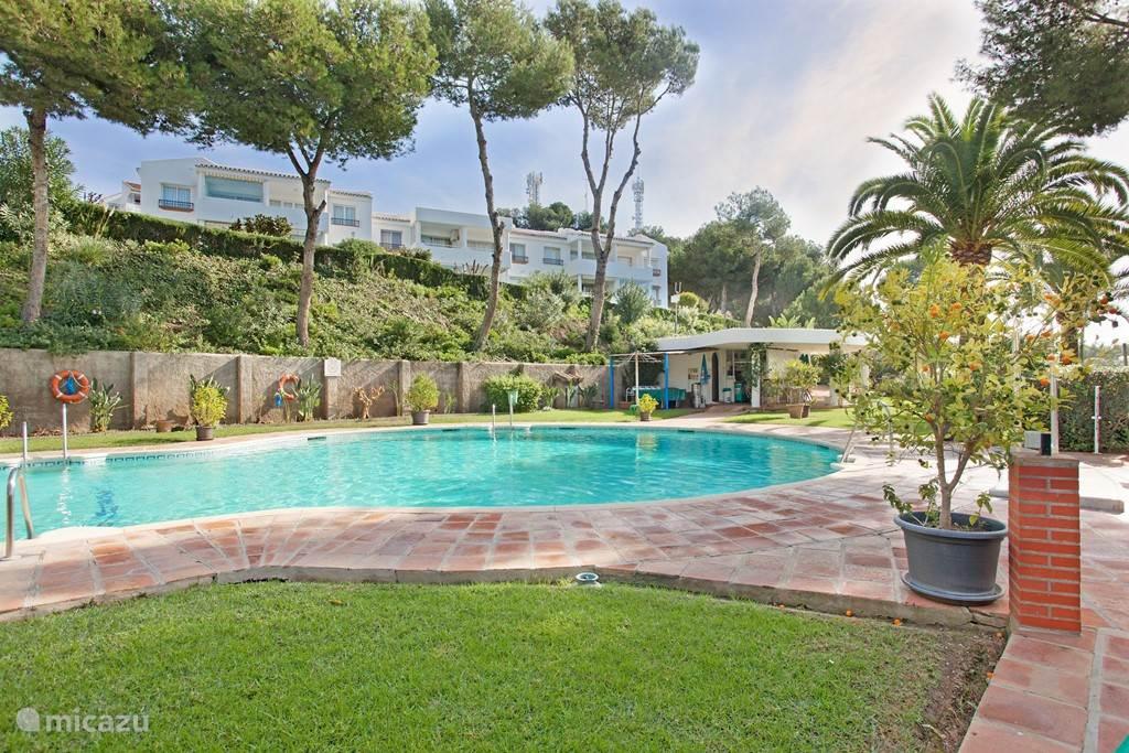 Vakantiehuis Spanje, Costa del Sol, Mijas Costa Appartement Modern apartment met fraai zeezicht