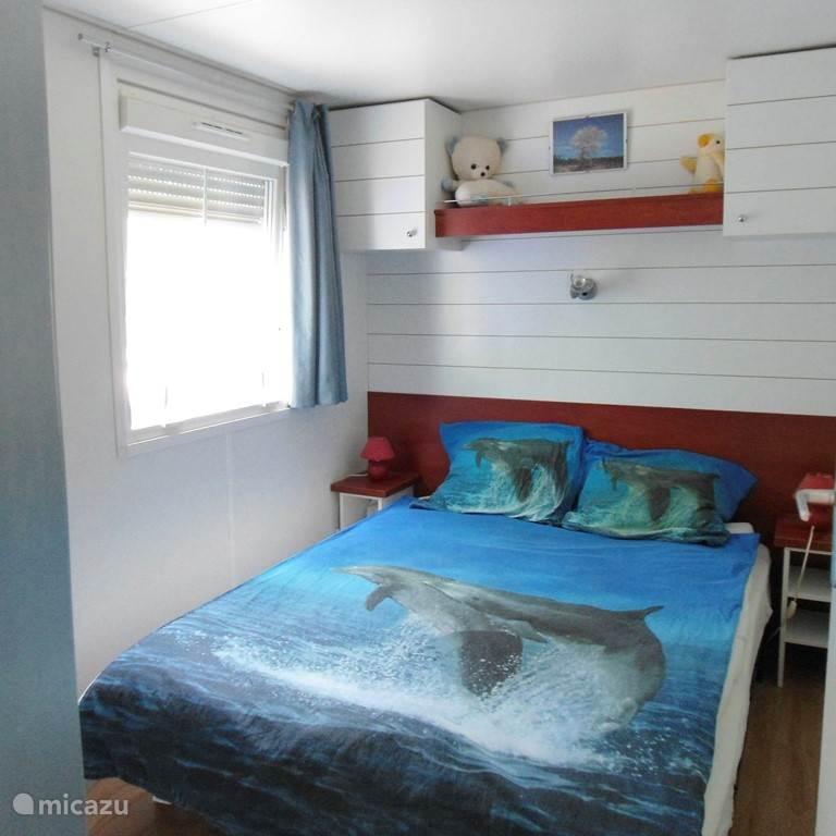 Slaapkamer met 2 persoonsbed