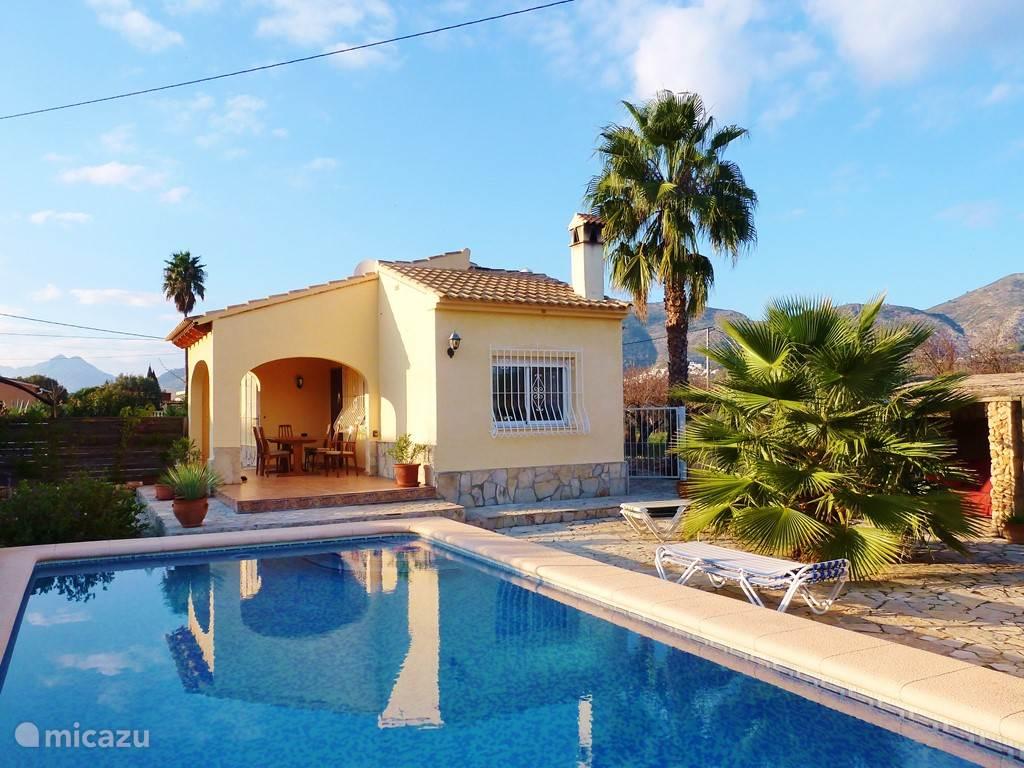 Vakantiehuis Spanje, Costa Blanca, Jalón - villa Casa Amarilla Xaló