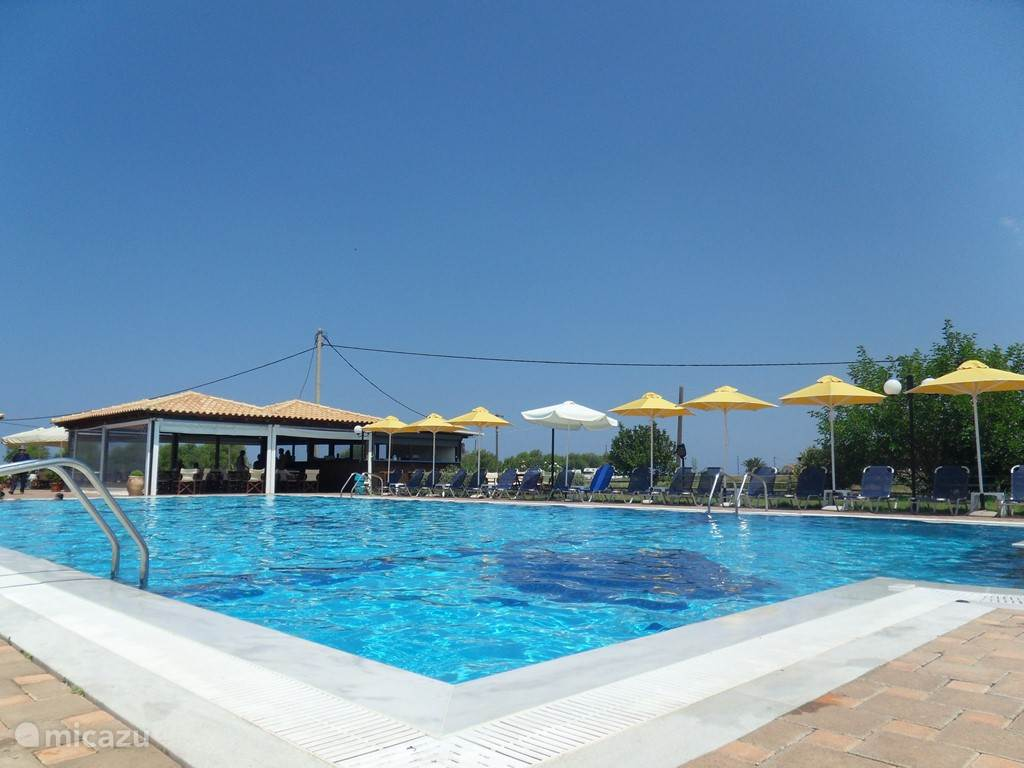 The pool in Kalo Nero.