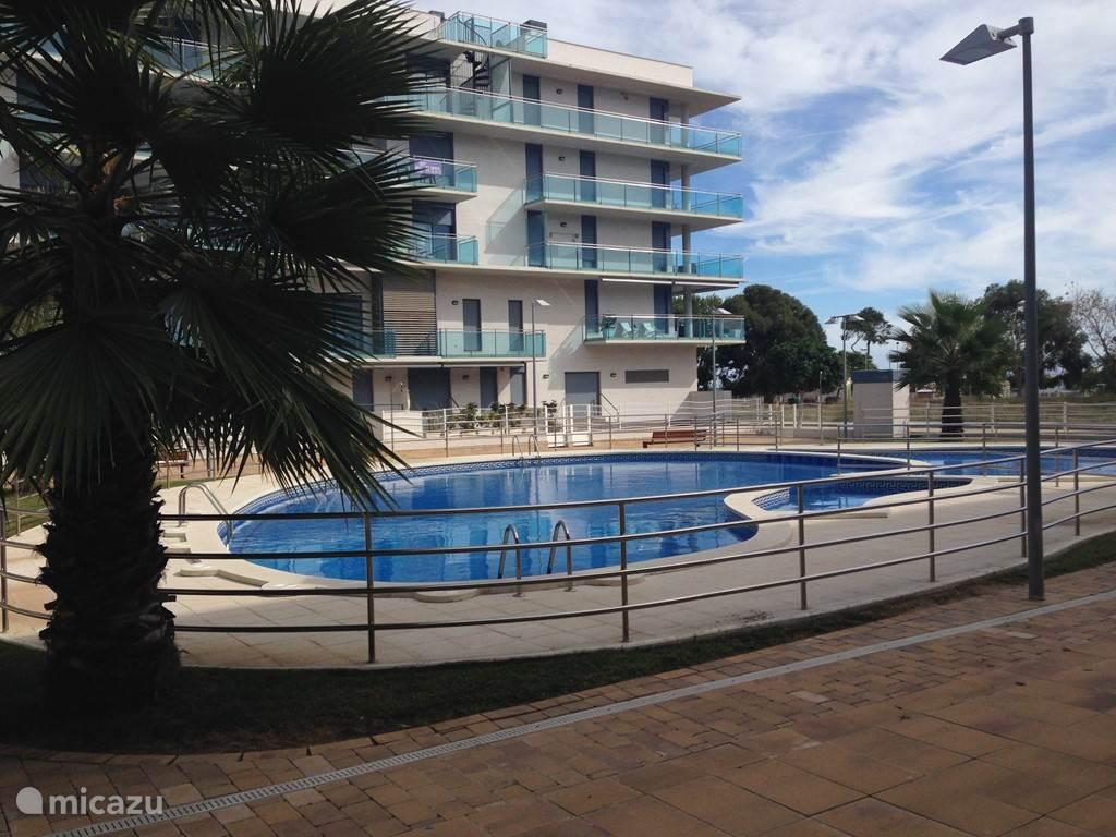 Appartement met zwembad