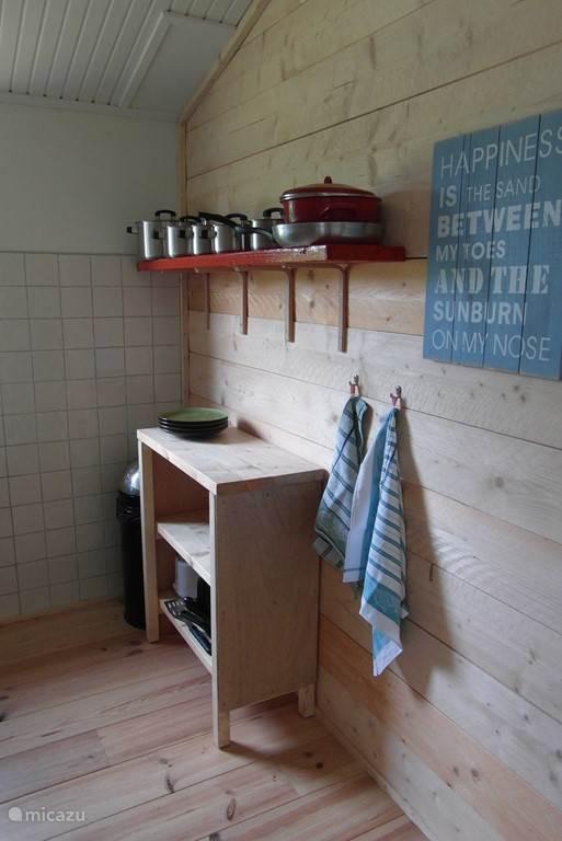 half open keuken