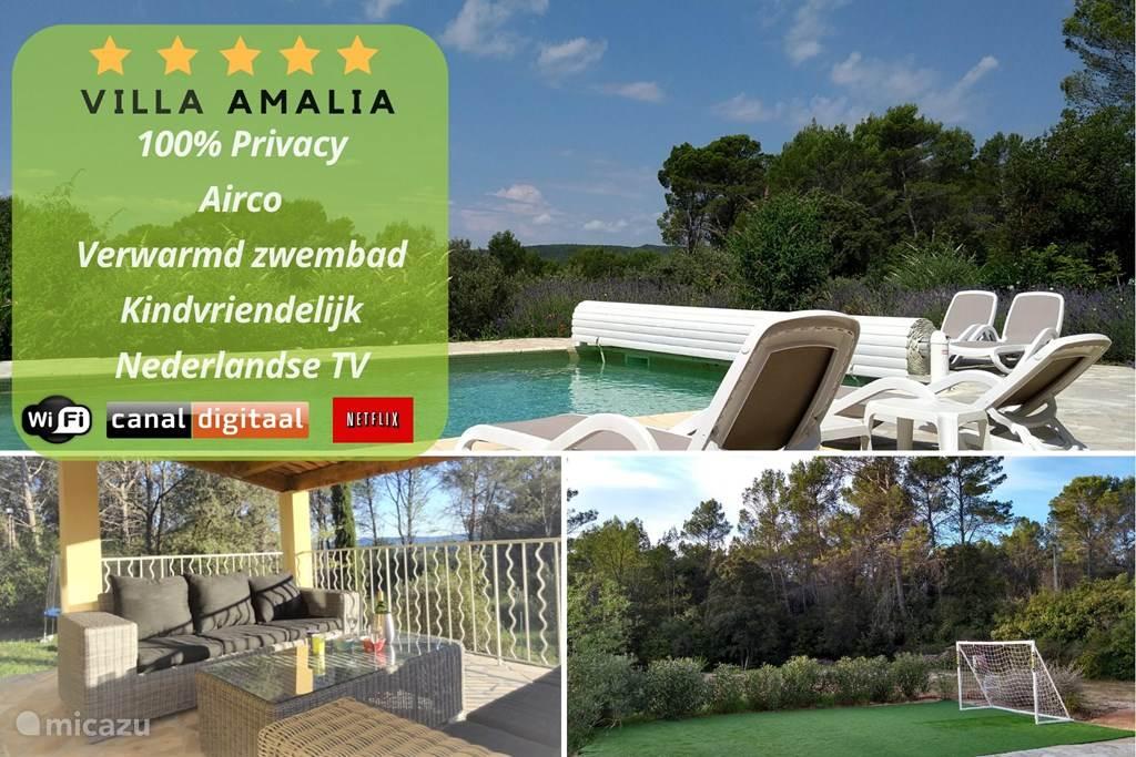 Vakantiehuis Frankrijk, Provence, Cotignac Villa Villa Amalia Cotignac *****