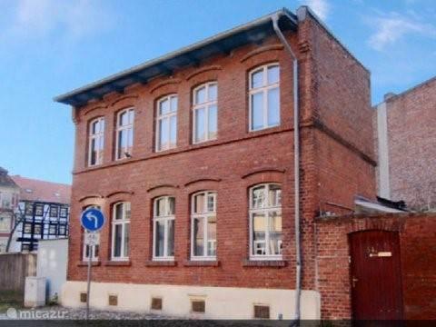 Vakantiehuis Duitsland, Harz, Quedlinburg Stadswoning Vrijstaand huis in Quedlinburg