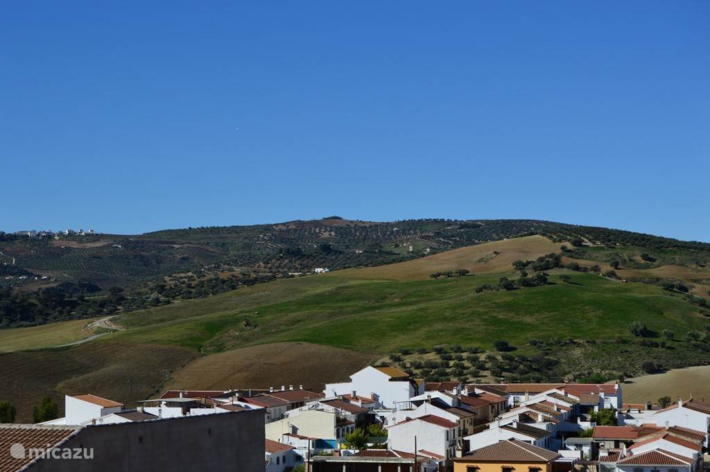 Vakantiehuis Spanje, Andalusië, Riogordo - geschakelde woning Dorpshuis Riogordo Malaga