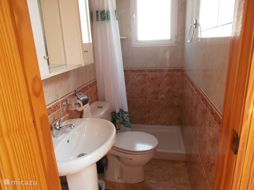 Badkamer op de eerste verdieping.