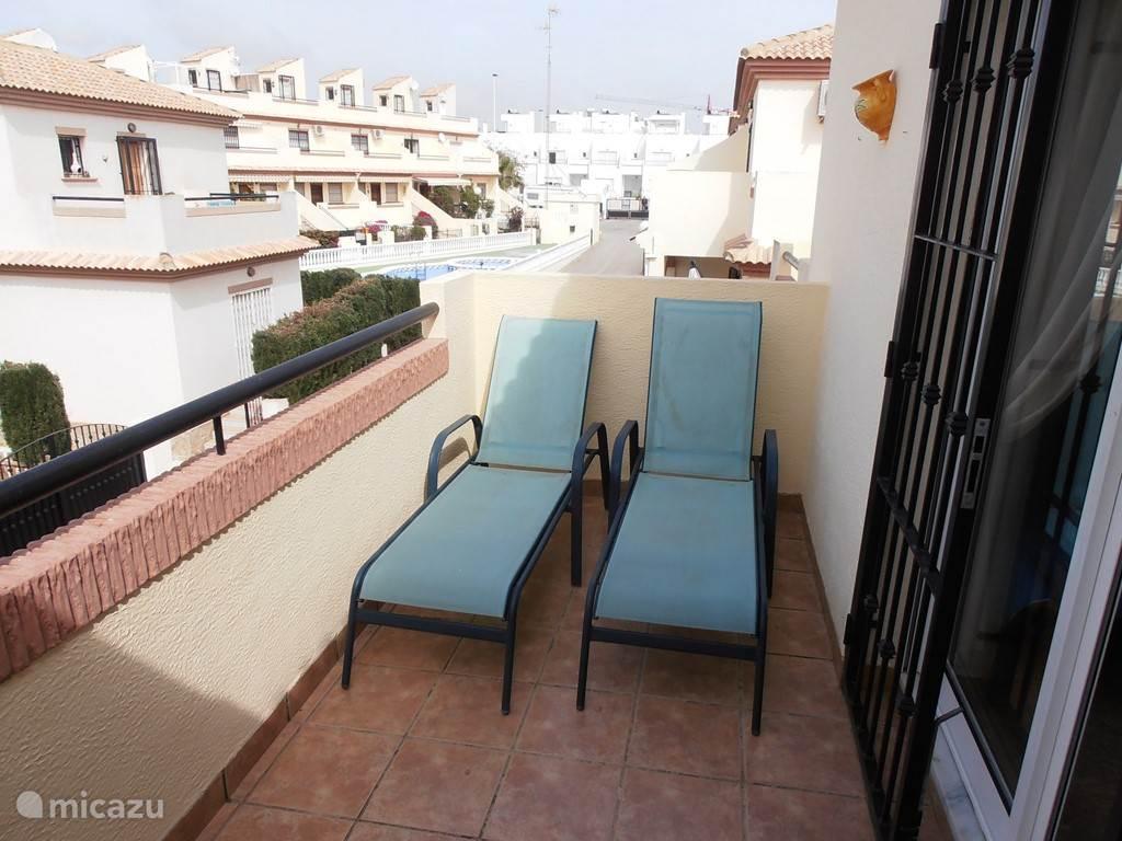 Klein terras op de eerste verdieping