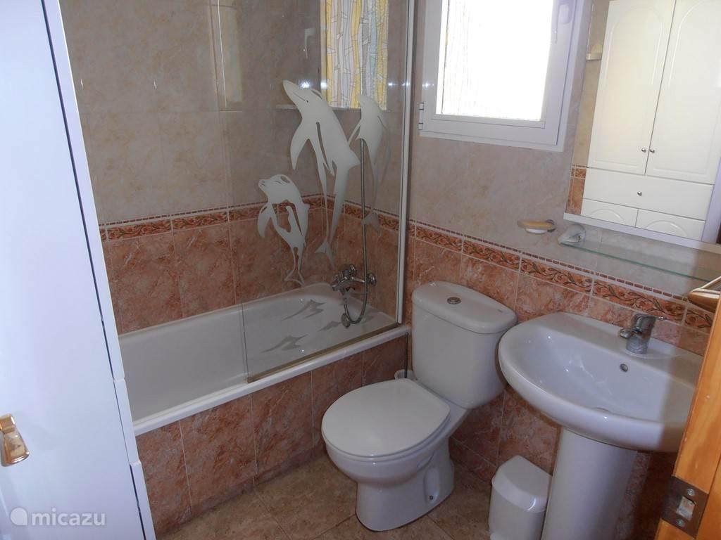 Badkamer op het gelijkvloers