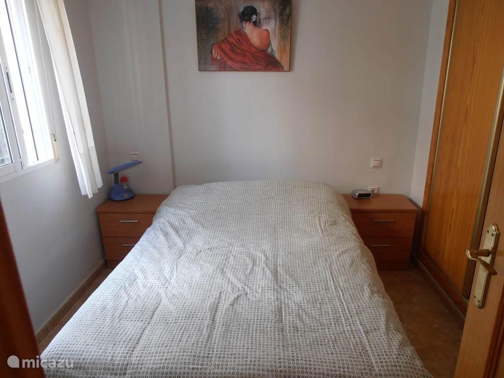 Slaapkamer op het gelijkvoers