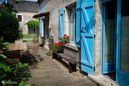 Vacation rental France, Cher, Herry holiday house Le Charme du Cher