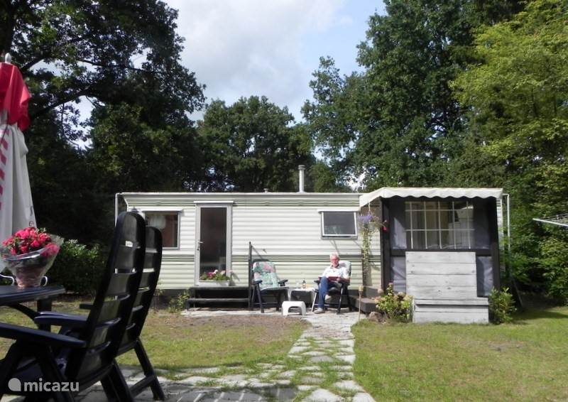 Vacation rental Netherlands – mobile home Modern mobile home