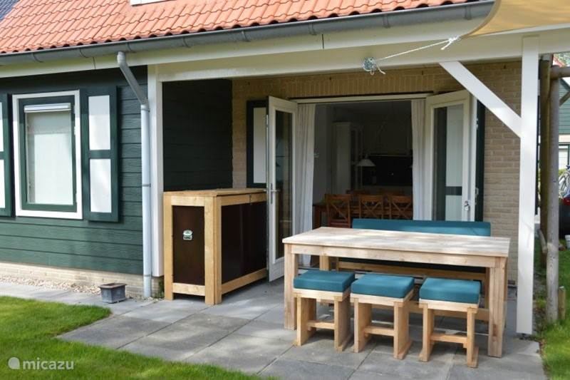 Vakantiehuis Nederland, Zeeland, Zonnemaire Bungalow Lille Huset