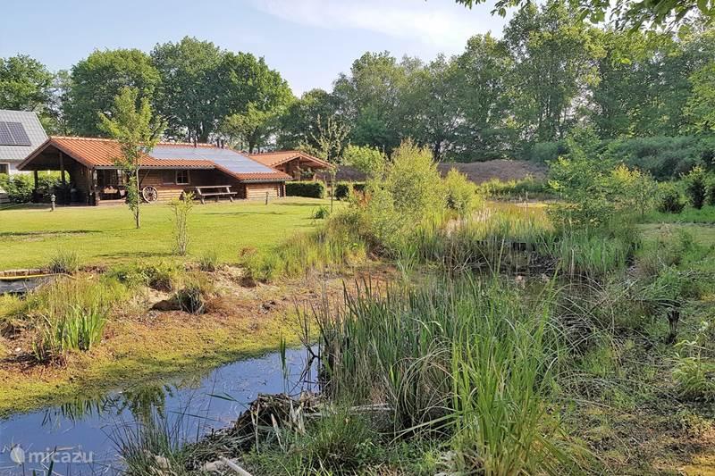 Vakantiehuis Nederland, Overijssel, Den Ham Blokhut / Lodge The Lodge