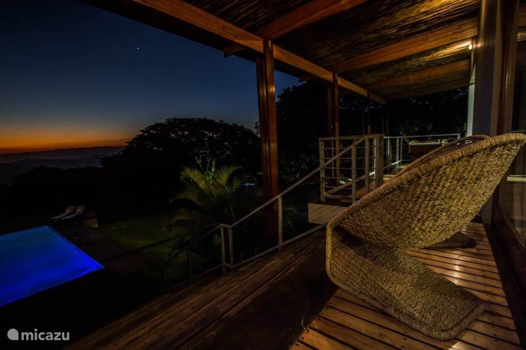 Ongoye View Residence - Mtunzini Uitzicht bij avond