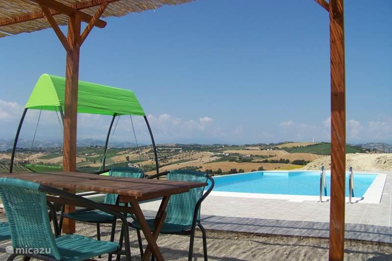 Vakantiehuis Italië, Abruzzen, Cologna Paese Appartement Casa Cologna (appartement L'Aquila)
