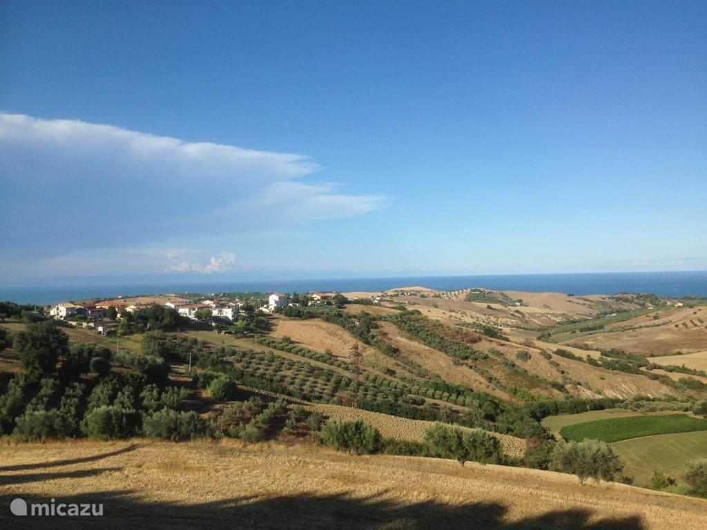 Vakantiehuis Italië, Abruzzen, Cologna Paese bed & breakfast Casa Cologna (Kamer Ascoli)